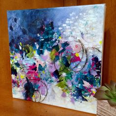 """Sign up for Contemporary Painter Paulette Insall's email list for a chance to win one of her original paintings (8""""x8"""" painting $195 value). She's never given away one of her original works, so don't miss out on your chance to own one!"""