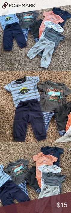 Euc Firm In Structure Clothing, Shoes & Accessories Old Navy Baby Boy Gray Cotton Shorts Size 0-3 Months