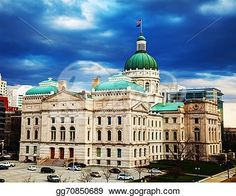 """""""Indiana state capitol building"""" -Indiana Stock Photo from gograph.com"""