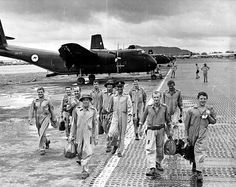 RAAF DHC-4 Caribou crews in Vung Tau, South Vietnam
