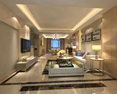 Ceiling Designs For Living Room Ideas Cream Your Drawing Contemporary Design Full Model 3d Available Formats Max Ready Animation And Other Projects Cgtrader Com
