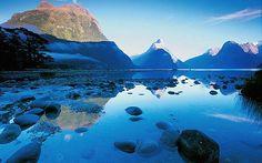 Fiords, New Zealand