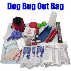 Bug Out Bag For Your Dog