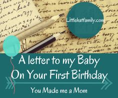 To my first born, my baby, on your first birthday. You made me a mom. You always be the little boy who changed my life, my sweet and serious, squishy and lovable- Harrison. You have graced this world for 365 days. Making everyone fall in love with you. With your serious side and also your…