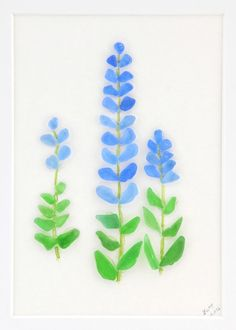 Lucy's Sea Glass - Bluebonnets!