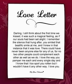 Love letter for him #100 | Love Letters for Him | Pinterest | Schöner