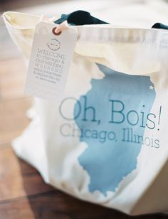 Our Favorite Wedding Welcome Bag Ideas | Photo by: Clary Photo | TheKnot.com
