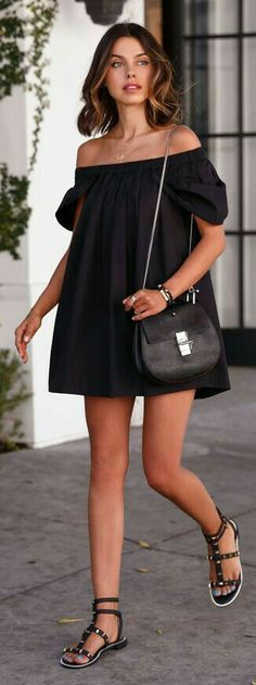 Black little dress