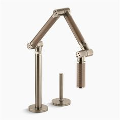 Shop Kohler  6227-C15-BV Karbon Articulating Deck-Mount Kitchen Faucet with Bronze Tube at ATG Stores. Browse our kitchen faucets, all with free shipping and best price guaranteed.