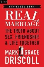 """Most marriage books assume the author did it right. Most marriage books barely mention friendship. Real Marriage:The Truth About Sex, Friendship, and Life Together. Most marriage books use """"intimacy"""" as code for """"sex."""" This is not one of those books. Mark Grace, God's Grace, Mark Driscoll, Good Books, Books To Read, Future Mrs, Future Tense, Future Wife, Thing 1"""