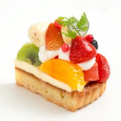 Seasonal Fruits Tart 季節のたっぷりフルーツタルトLuxurious tart with plenty of seasonal fruits + custard cream + crunchy almond tart + decorated with fruits + plenty of strawberries. 季節のフルーツをふんだんに使用した贅沢なタルト。サクサクのアーモンドタルトにカスタードクリームを重ね、旬のいちごとたっぷりのフルーツを彩り鮮やかに飾りました。 *** La Maison - 〒160-0022 東京都新宿区新宿3-38-2 ルミネ新宿 ルミネ2 5F