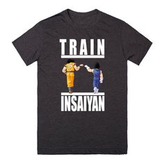Train Insaiyan - Goku & Vegeta