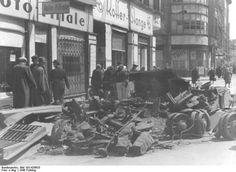 Fruehjahr 1946:Panzertruemer in der Weinmeisterstrasse,Mitte.
