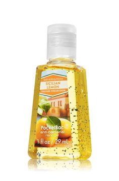 Sicilian Lemon PocketBac Sanitizing Hand Gel - Anti-Bacterial - Bath & Body Works