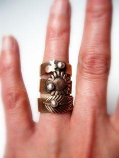 cute rings - Senobar on Etsy