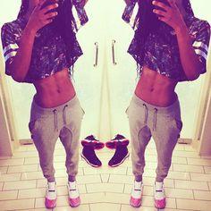 c9738306dcc6aa Teyana Taylor wearing Jordan XI Low GS- Pink Snakeskin All Jordans