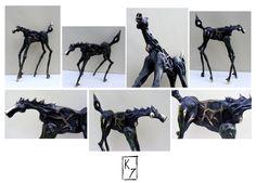 Horse   35 cm  Bronze   Krzysztof Jankowski   2012