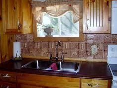 Beautiful 12X24 Slate Tile Flooring Huge 16X16 Ceramic Tile Solid 2 Inch Hexagon Floor Tile 2 X 6 Subway Tile Backsplash Young 2X2 Drop Ceiling Tiles Brown2X4 Drop Ceiling Tiles Gwen\u0027s Cabin   Aluminum Backsplash Tile   #0512 | Cabin, 50th And ..