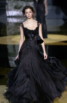 Elie Saab at Couture Spring 2006 - StyleBistro