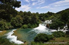 River Krka is formed many lakes, falls and water currents. It was declared a National park in 1985.