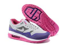 new arrival b59b5 ec4b0 Now Buy Discount Nike Air Max Lunar 1 Womens White Grey Purple Pink Save Up  From Outlet Store at Footlocker.