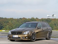 "SR Auto Mercedes-Benz C 63 AMG ""Matt Bond Gold Metallic"" (S204) '2013–pr."