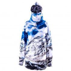 Mountain Freak Hoodie With Replaceable Mask - Fancy special price! Ski Gear, Snowboarding Gear, Snowboard Hoodies, Surf Board Shorts, Shaun White, Baywatch, Softshell, Winter Sports, Hoodie Jacket