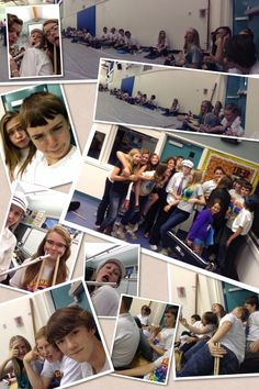 My amazing friends at my last spring concert