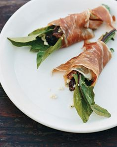 Bitter-Greens Salad Wrapped in Prosciutto Recipe