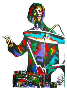 Ringo Starr of The Beatles POSTER from Original Drawing by thesent, $14.99
