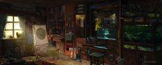 ArtStation - A quiet room, Houwai Leung