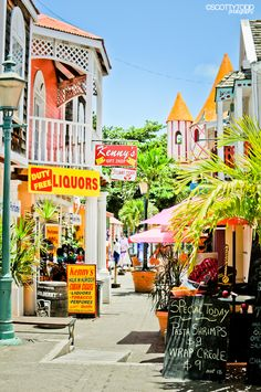St Maarten........this is a place I visit for a day trip break...love the shopping...manale