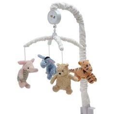 Disney® My Friend Pooh Crib Bedding Collection > Disney® My Friend Pooh Musical Mobile from Buy Buy Baby