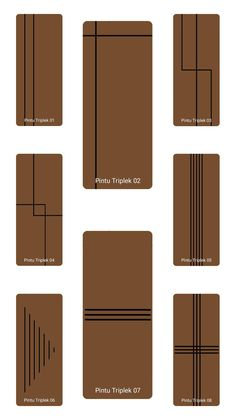 Pintu Triplek Main Entrance Door Design, Wooden Main Door Design, Double Door Design, Door Gate Design, Room Door Design, Door Design Interior, Interior Design Living Room, Flush Door Design, Porte Design
