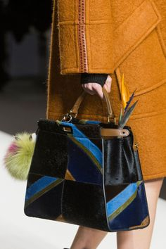 Fendi at Milan Fall 2015 (Details)
