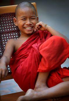 Myanmar, futur moine