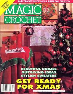 Magic Crochet No. 92; October 1992