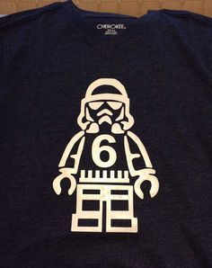 lego star wars stormtrooper birthday shirt