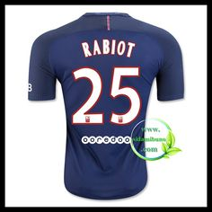 Fotballdrakter Paris Saint Germain PSG RABIOT #25 Hjemmedraktsett 2016-2017 Paris Saint, Saint Germain, Psg, Saints, Fashion, Moda, Fasion, Trendy Fashion, La Mode