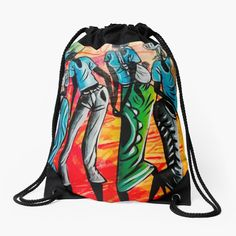 African Artwork, Artwork Design, Iphone Wallet, Sell Your Art, Pouches, Woven Fabric, Drawstring Backpack, Art Prints