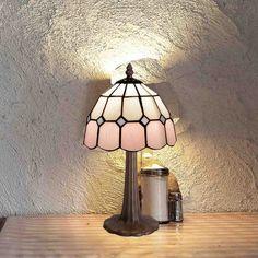 Lámpara de sobremesa Pink Tiffany