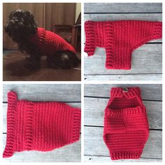 Doggy Sweater by DinkysCreations247 on Etsy