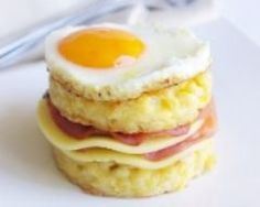 Croque Madame aux coquillettes (facile, rapide) - Une recette CuisineAZ