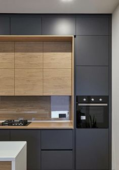 Modern And Trendy Kitchen Cabinets Ideas And Design Tips – Home Dcorz Kitchen Room Design, Kitchen Cabinet Design, Modern Kitchen Design, Home Decor Kitchen, Interior Design Kitchen, Kitchen Ideas, Interior Livingroom, Kitchen Layout, Kitchen Inspiration
