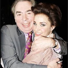 """Sierra Boggess on Instagram: """"This man gave me my break in 2006 and then in London in 2009 and now 2015 back on Broadway! @sormusical opens previews tonight!! @andrewlloydwebber"""""""