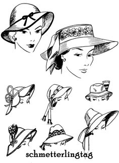1952 Millinery Book Hat Making Make Hats by schmetterlingtag, $14.99