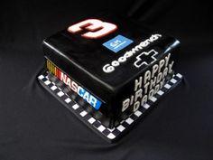 Dale Earnhardt #3 Cake