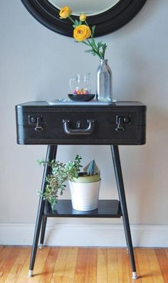 DIY Furniture Ideas | Suitcase Table | DIY Furniture Ideas