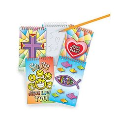 24 Religious Spiral Notepads #36/2410