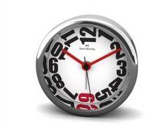 Mehr als nur ein Wecker: Oliver Hemming Uhr H80S20WR mit extra großen Ziffern